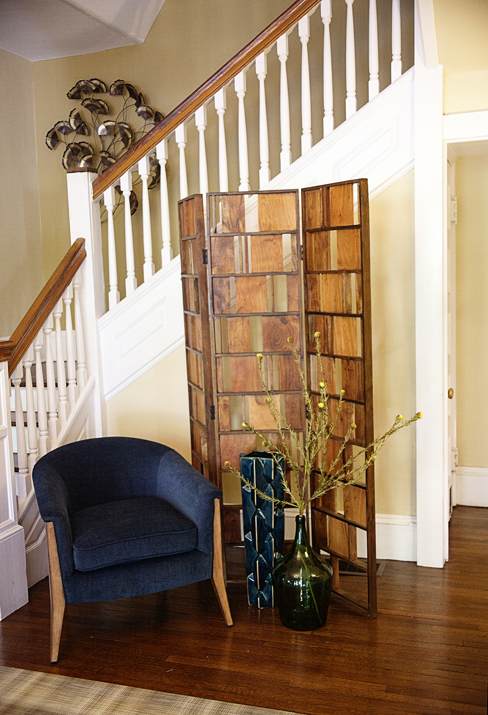 Small Foyer Makeovers : Before after foyer makeover nest realty