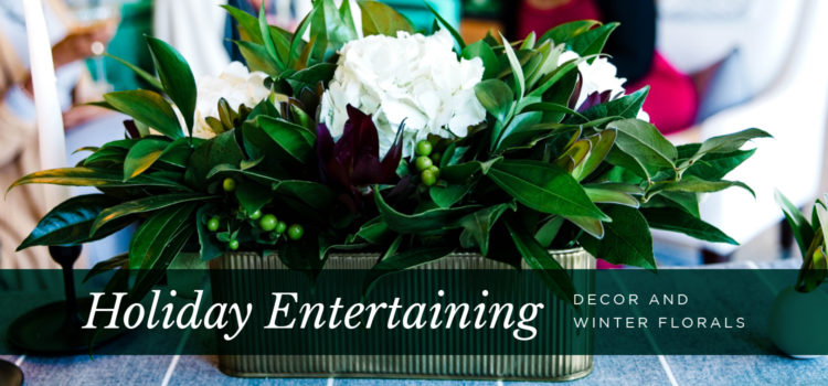 NEST Magazine - holiday decor and winter florals