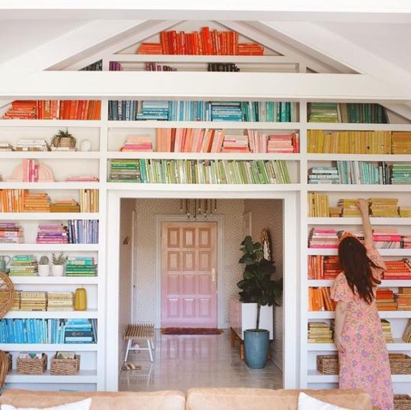nest realty - bookshelf