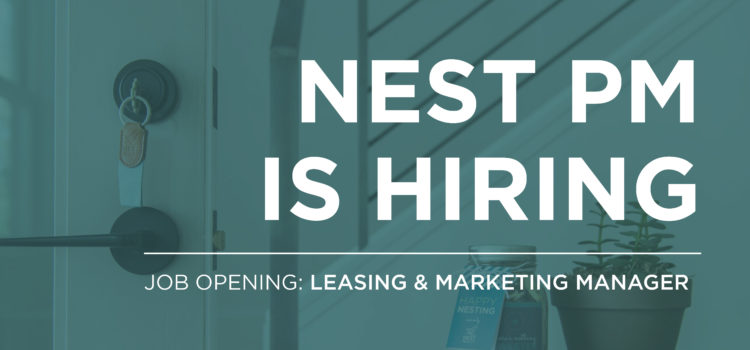 Leasing and Marketing - Nest Property Management