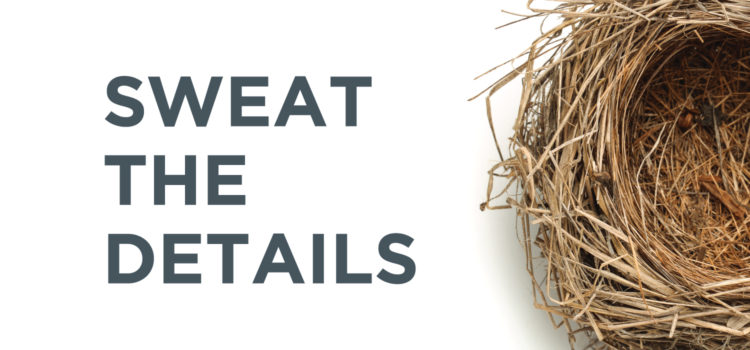 Sweat the Details Podcast by Nest Realty cooperation