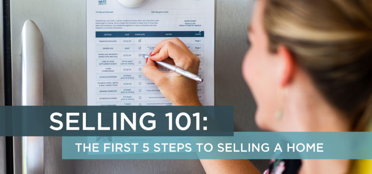 Selling 101 Nest Realty