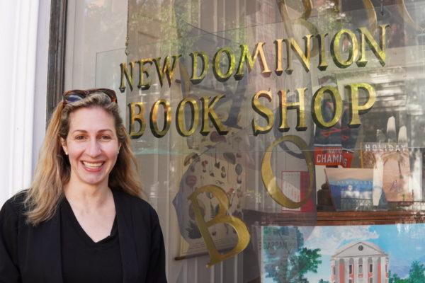 Julia Kudravetz with New Dominion Book Shop
