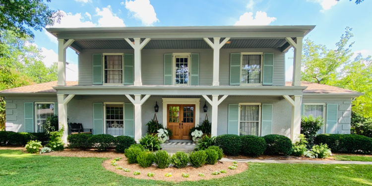 curb appeal southern traditional