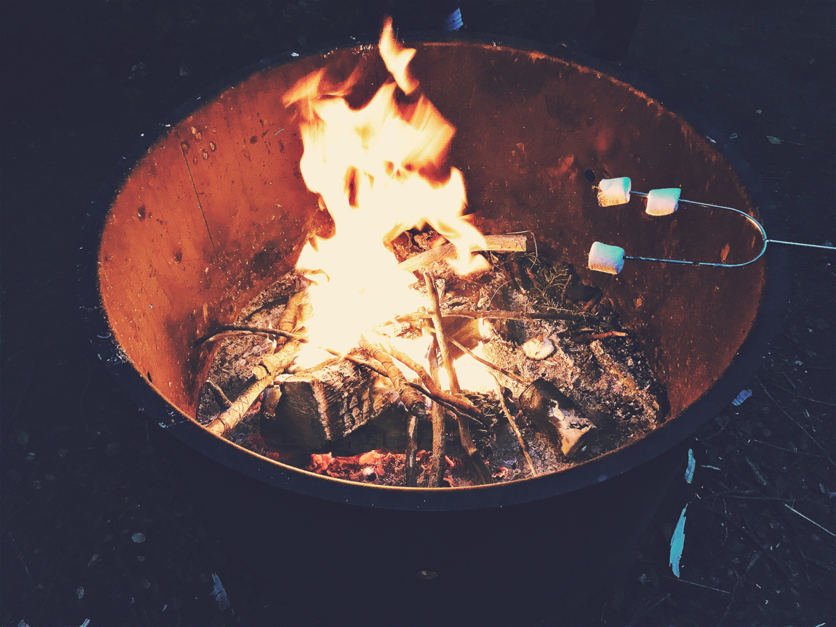 firepit marshmallows