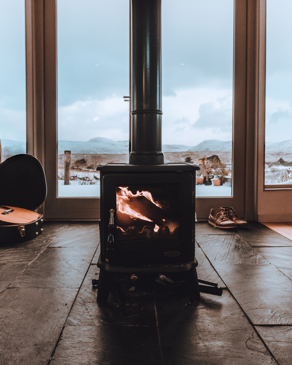 fireplace stove - nest realty