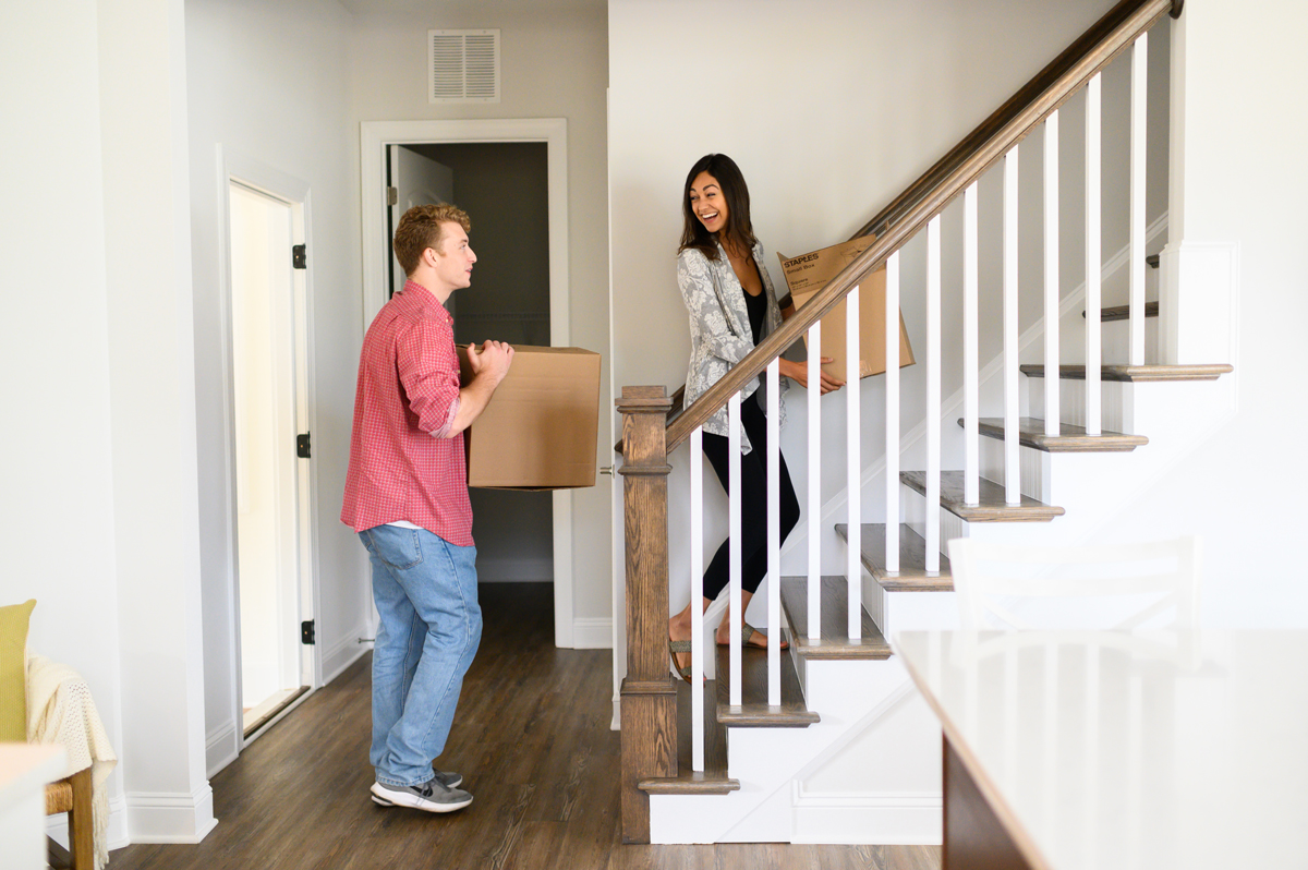 buyer's journey - buying a new home