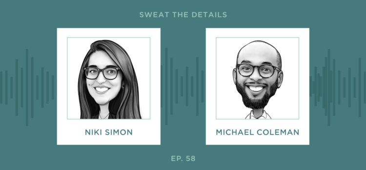 sweat the details - dynamic duo