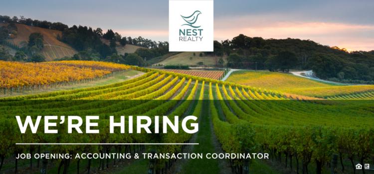 Hiring an Accounting & Transaction Coordinator