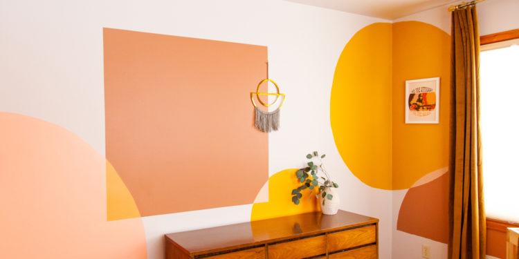DIY Painted Mural